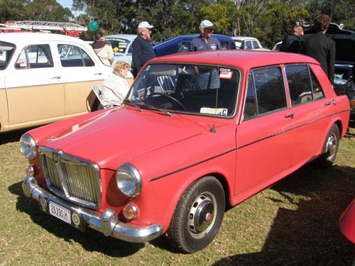 Morris 1100 in Australia