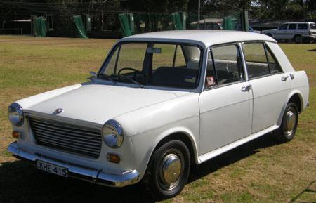 Morris 1100 In Australia Car Profile